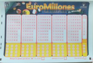 Boleto Euromillones