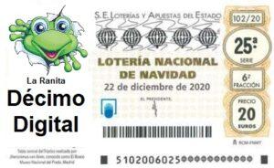 lotería de navidad 2021 sin gastos de envío